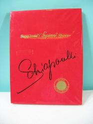 Vintage 60s Schiaparelli Support Stockings 1 Pair NIB Flaming Youth Tall 9.5 10
