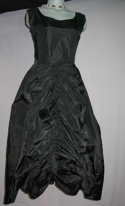 vintage 50s lanvin evening gown dress