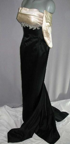 Vintage 50's Travilla Ball Gown Eveing Dress