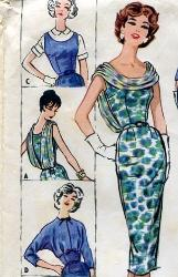 Prom Dress Patterns on Vintage Sewing Patterns 1940 S 1950 S 1960 S Dress Dresses Coats Pants