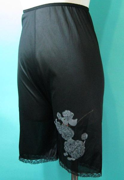 Damn Good Vintage Sale Vintage 50s Black Petti Pants Long